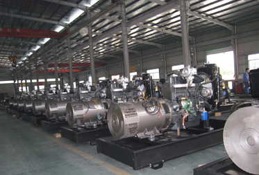 As more as 8000 units big gensets annually