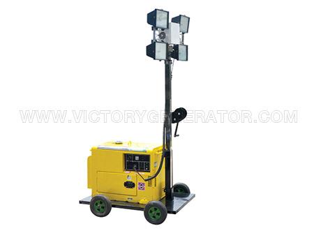 4.2kw~22kw mobile light tower diesel generator set-01