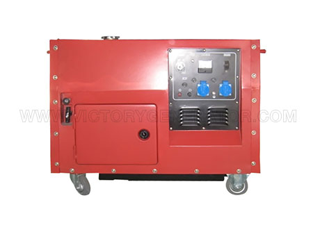 4.5kw~6.6kw silent gasoline portable generator-01