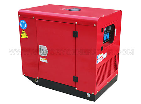 8.5kw~10.5kw silent gasoline twin-cylinder generator-01